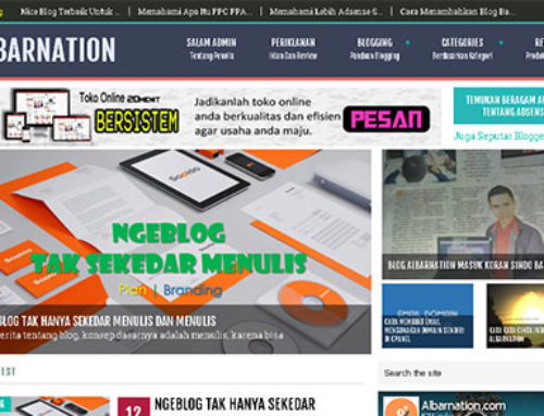 Albarnation – Website Berita