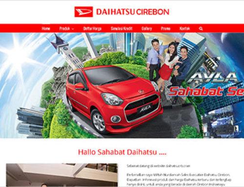 Daihatsu Cirebon – Website Sales Mobil