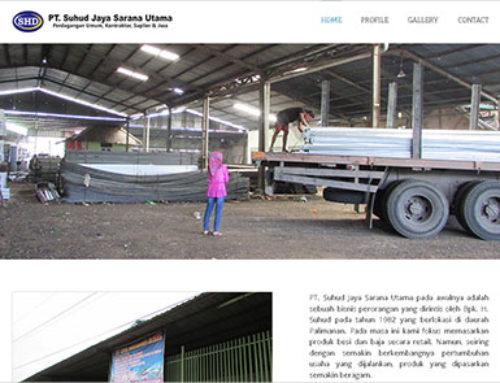 PT Suhud Jaya – Website Kontraktor